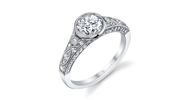 sylvie collection engagement ring