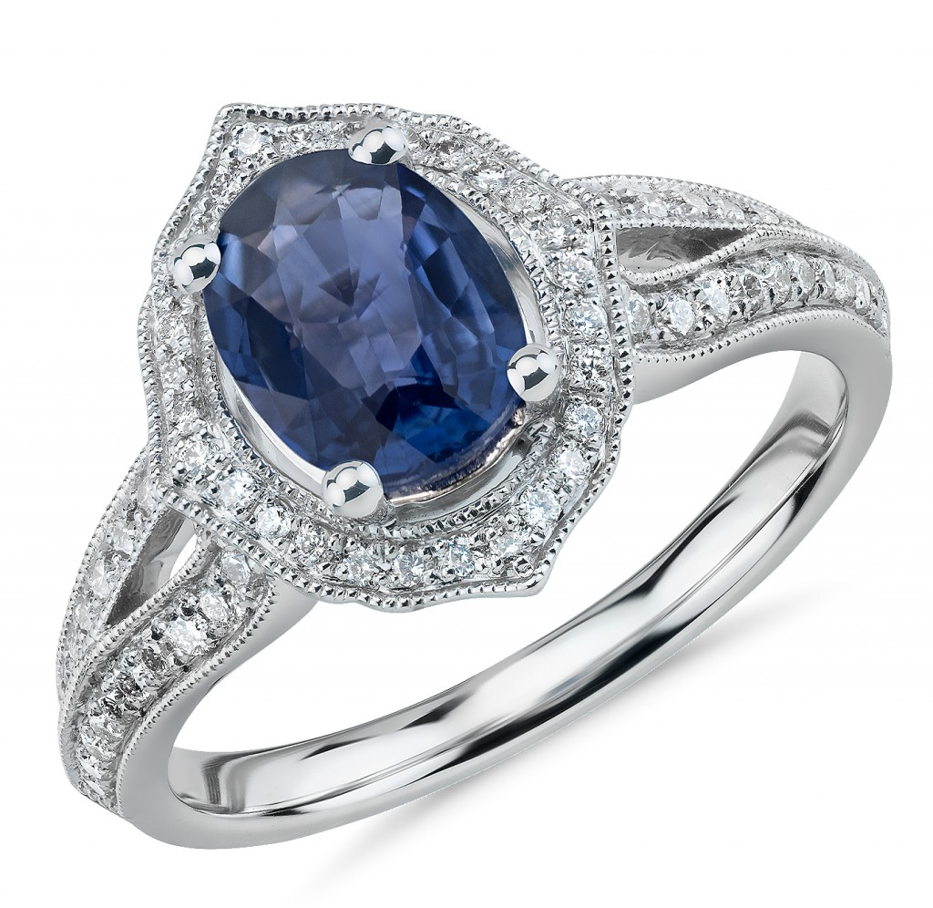 truly zax posen sapphire engagement ring love
