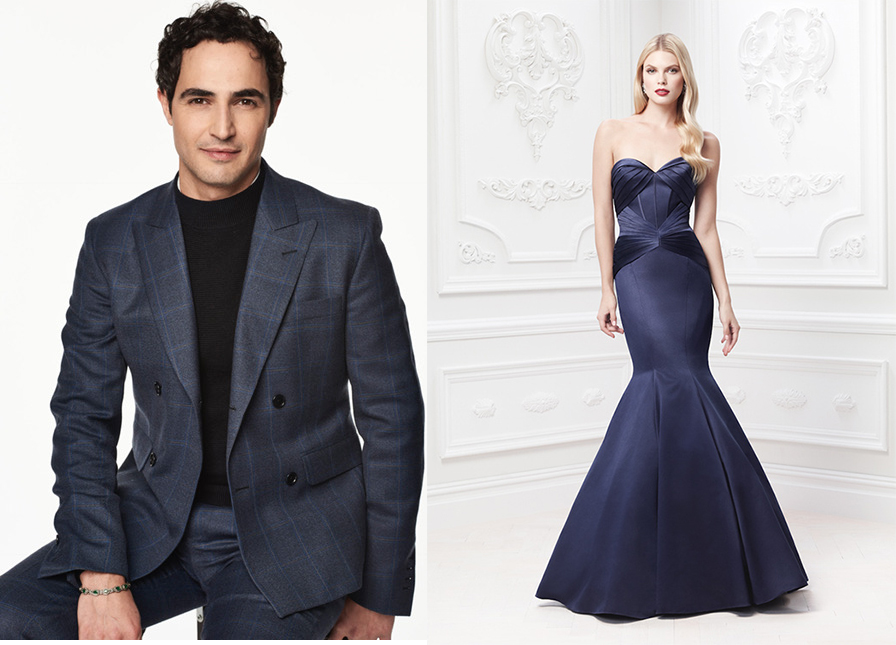 Something Blue and New at  Truly Zac Posen for Blue Nile
