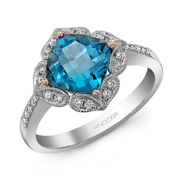 Topaz Engagement Rings