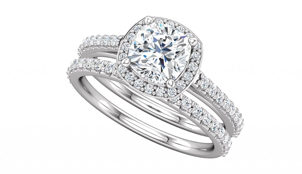 engagement ring ever and ever love band