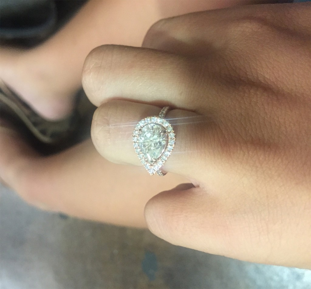 nina engagement ring proposal love same sex