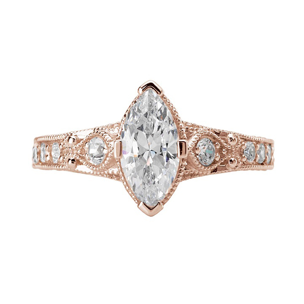 11 love my romance marquise engagement ring