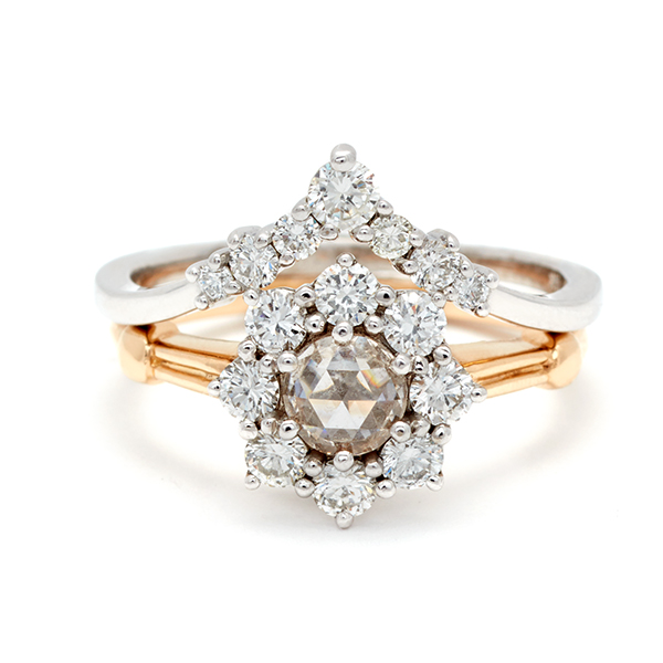 7 anna sheffield curved bands engagement rings