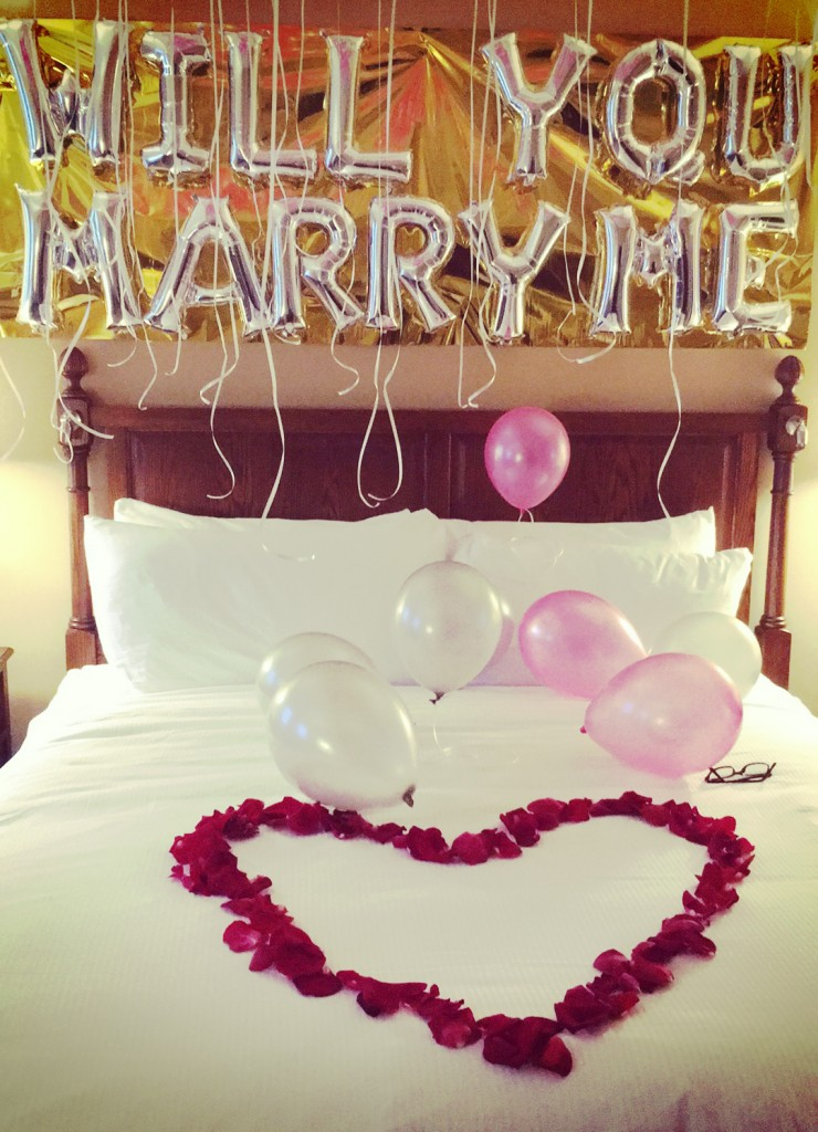 will you marry me bed proposal
