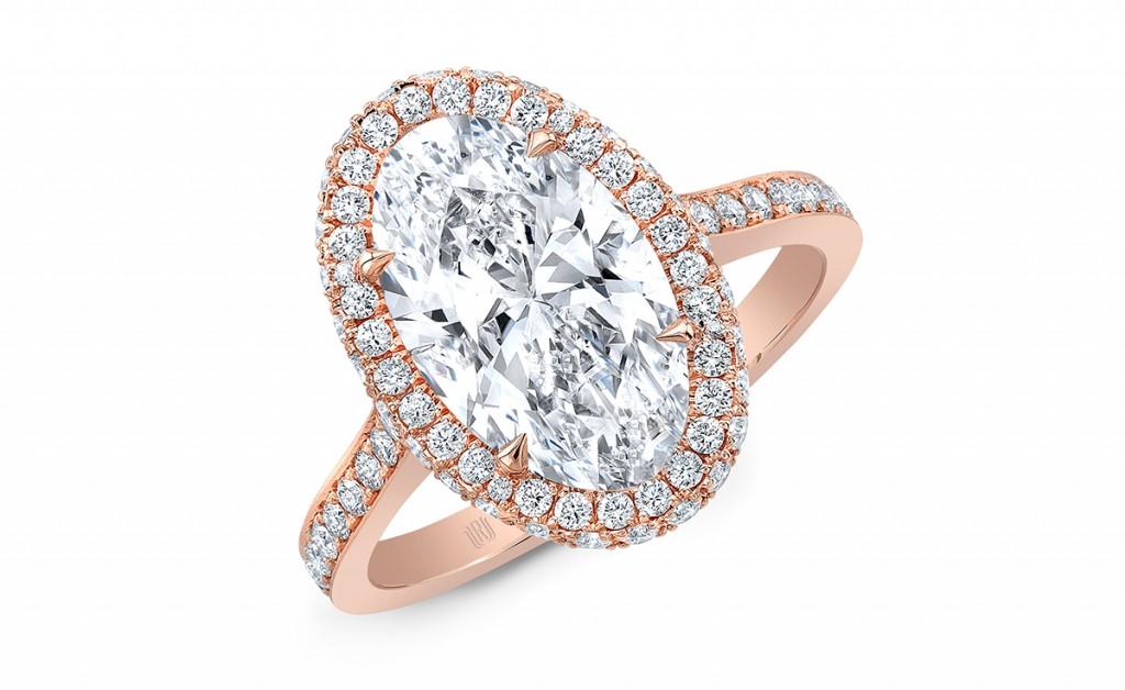 FL-3083 rahaminov engagement ring