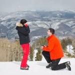 A Beautiful Ski Proposal