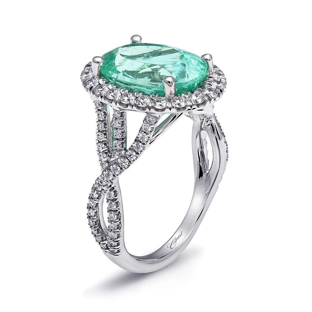 Colored Gemstones Look the Best Set in Platinum