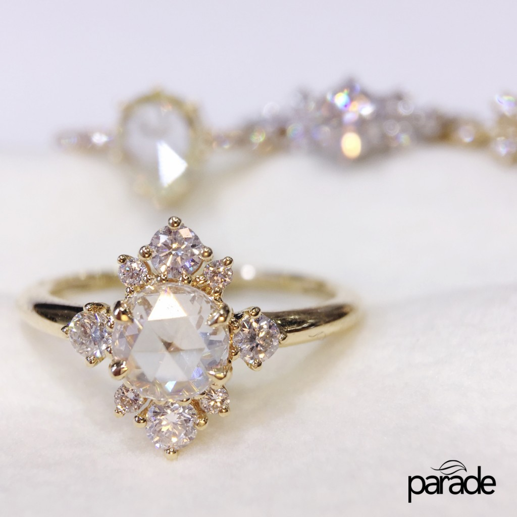 Win this Rose Cut Diamond Ring by Parade Design