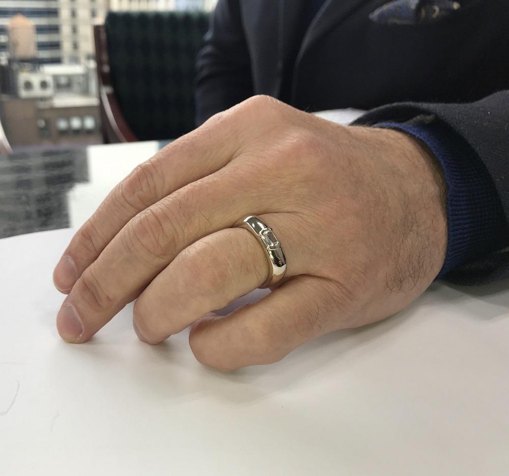 resized mangagement ring