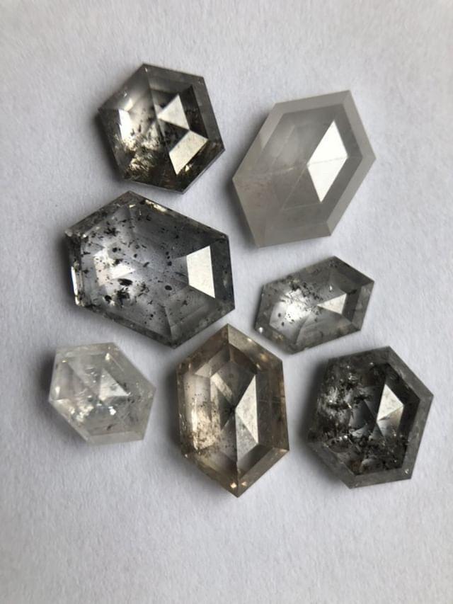 Hexagonal diamonds
