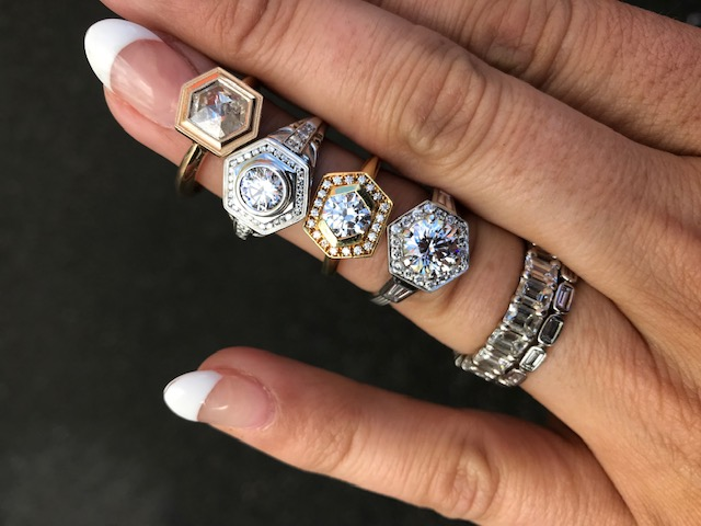 Hexy engagement rings sholdt