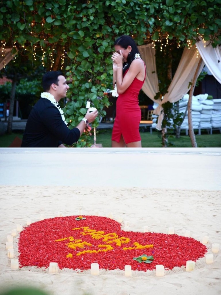 A Bali Beach Proposal