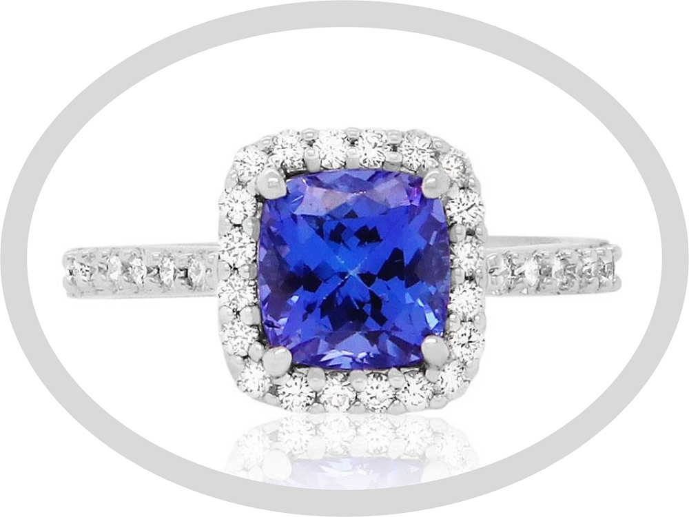 Birthstone Engagement Rings