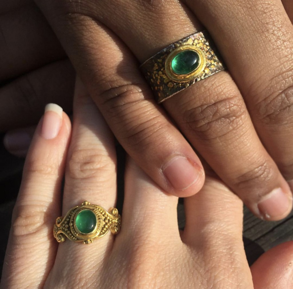 6 Straight Couples Who Picked Matching Engagement Rings