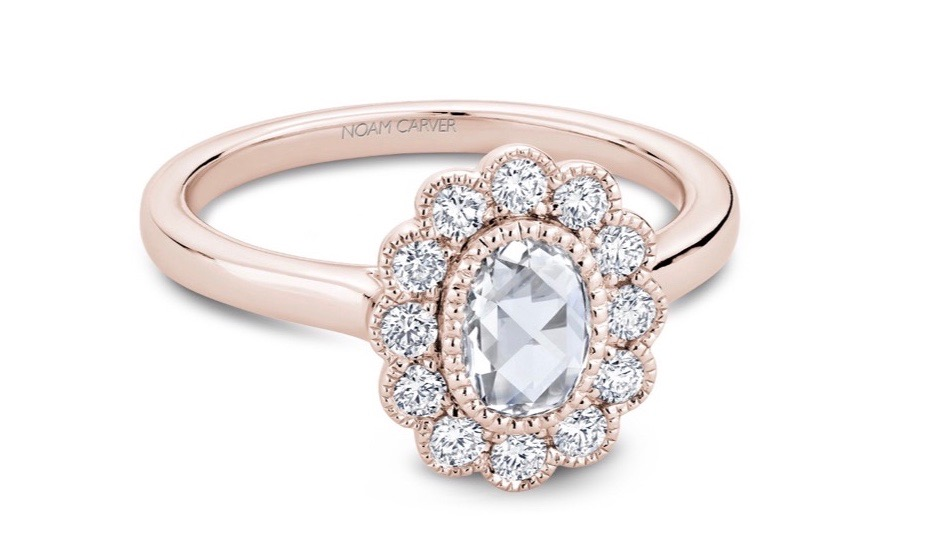Noam Carver New Rose Cut Engagement Rings