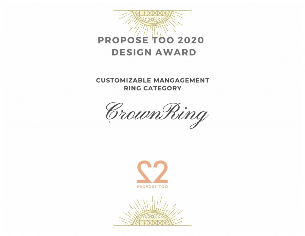 Propose Too 2020 Mangagement Ring Design Contest Winners