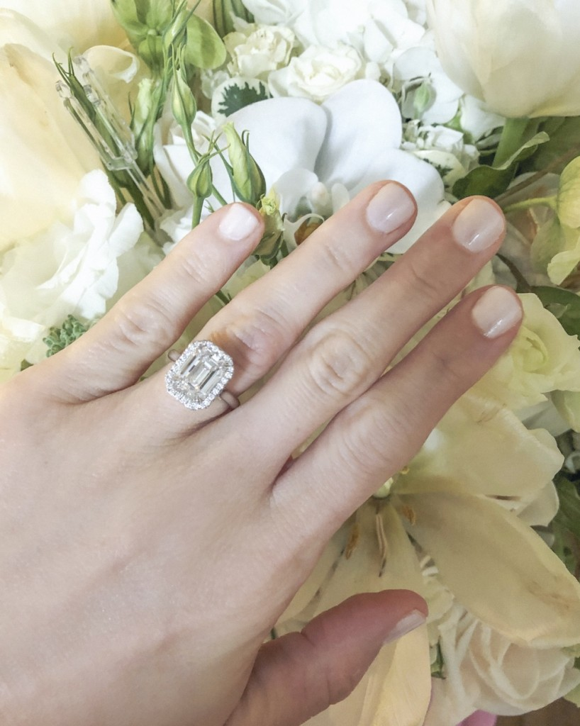 Melanie of Rahaminov Diamonds Gets Engaged