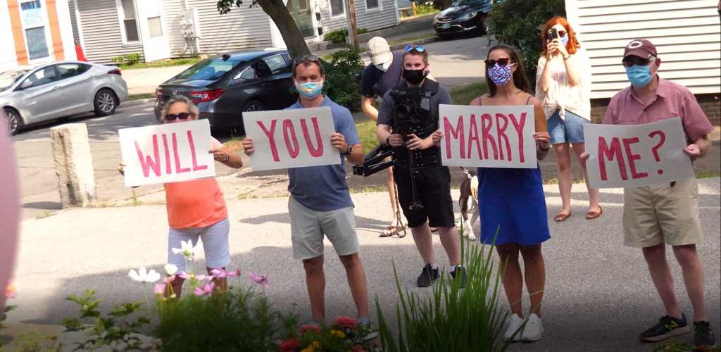 He Said Yes! A Pandemic Reverse Proposal