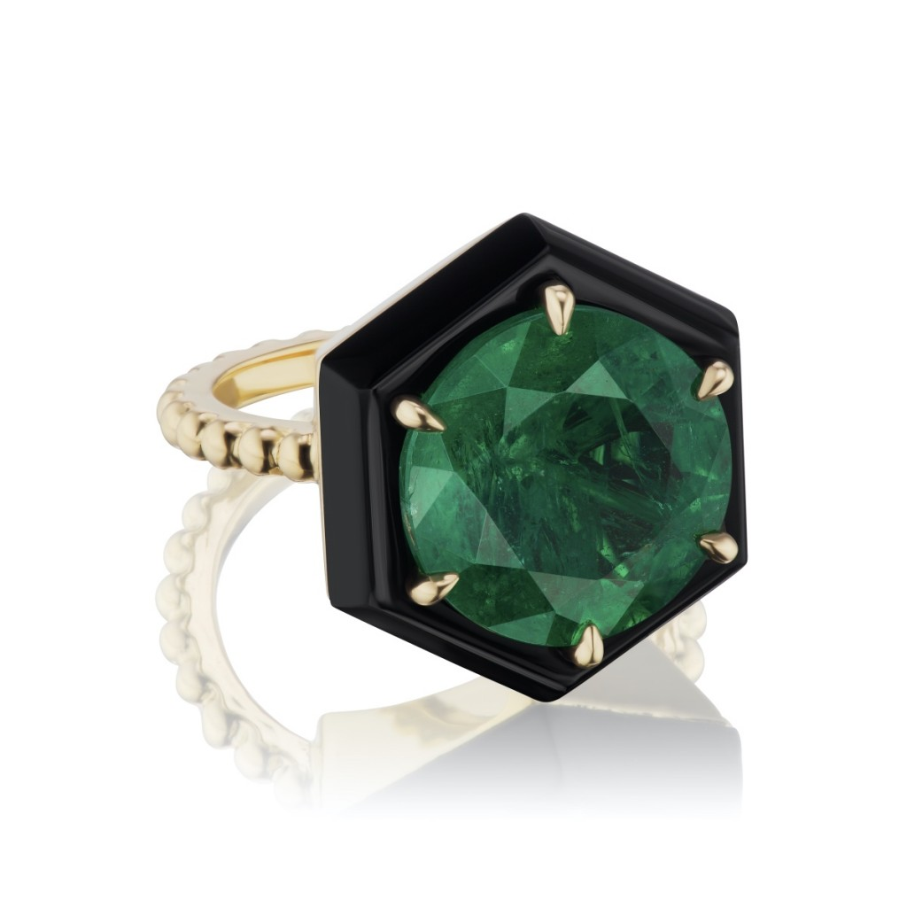 6 Stunning Emerald Engagement Rings And 1 Unique 3-Stone Tourmaline Ring