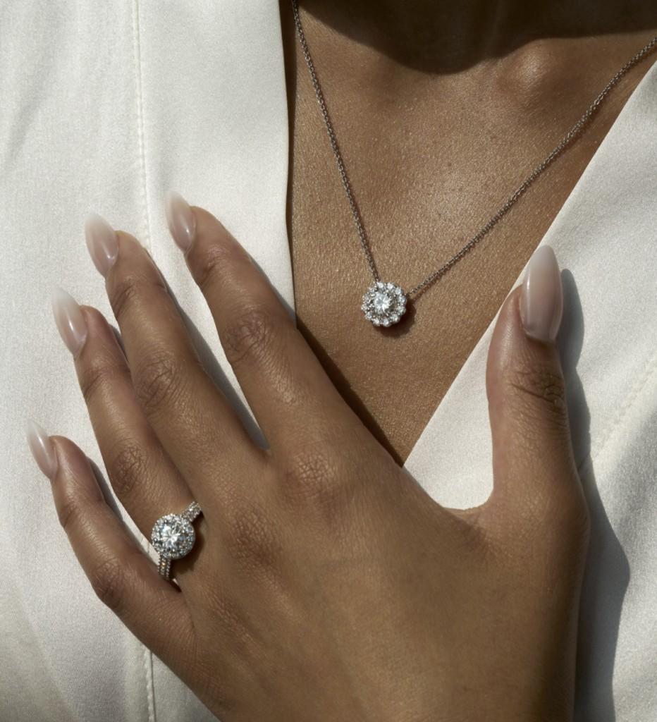 Orion Ring, Polaris Necklace