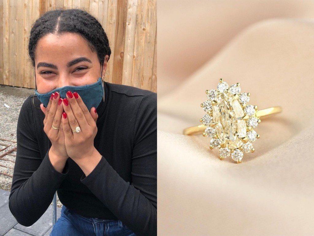 Hot New Trend: Yellow Diamond Engagement Rings