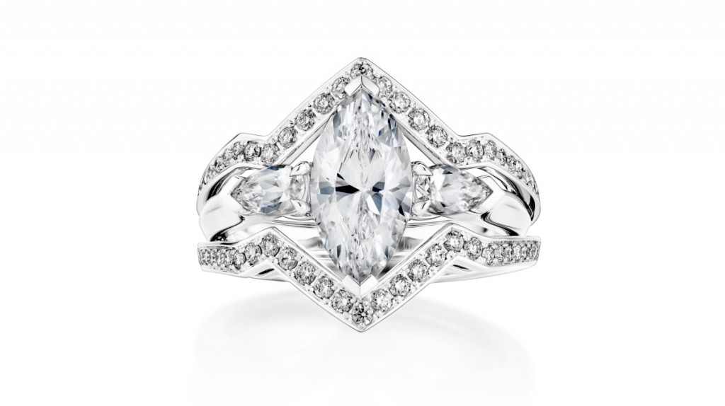 Trending: The Hot Marquise Engagement Ring