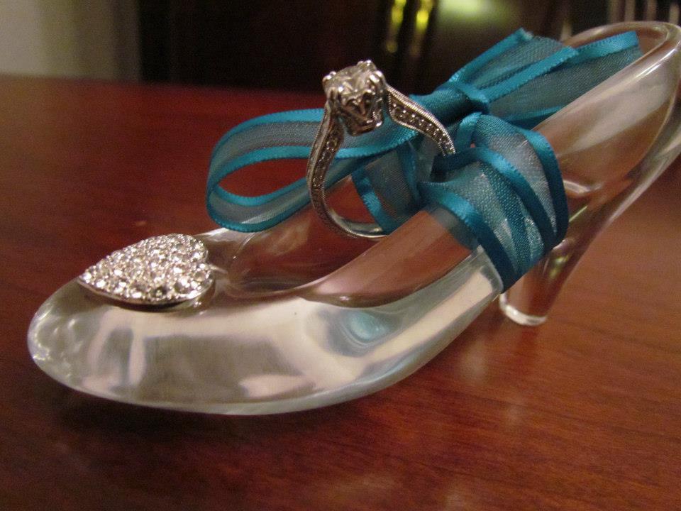 A Glass Slipper Fairy Tale Proposal In Louisville