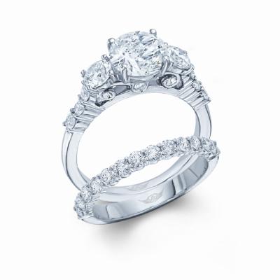 Matching Wedding Ring Solid Yellow Gold Ladies Mens Milgrain