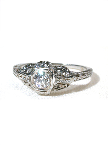 Unconventional Engagement Rings The Three Graces Ring