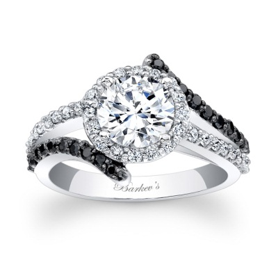 Each Engagement Ring Has With Its Own Unique Characteristics The Defining Trait Of Black Diamond Collection Is Mix And White Diamonds In