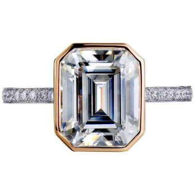 White Rose Emerald Cut