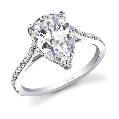 Sylvie Pear Engagement Ring