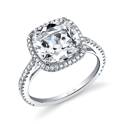 How to select the best engagement ring for her finger shape in my opinion they look best when adorned with a cushion or princess cut center stone engagement ring junglespirit Gallery